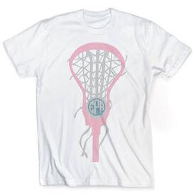 Vintage Lacrosse T-Shirt - Monogrammed Lax is Life