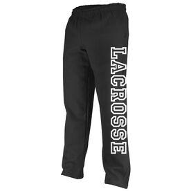 Lacrosse Outline Fleece Sweatpants