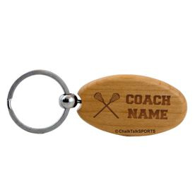 Lacrosse Maple Key Chain