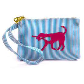 Girls Lacrosse Wristlet Bag (Rylee) LuLa the Lax Dog