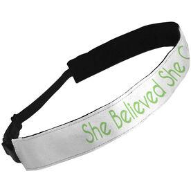Julibands No-Slip Headbands She Believed She Could So She Did