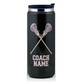 Stainless Steel Travel Mug Lacrosse Girls Coach