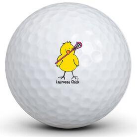 Lacrosse Chick Golf Balls