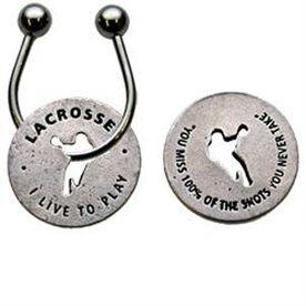 Lacrosse Token Key Chain
