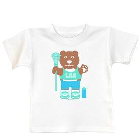 Baby T-shirt Lacrosse Bear
