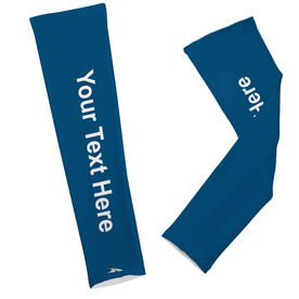 Printed Arm Sleeves Personalized Solid Color