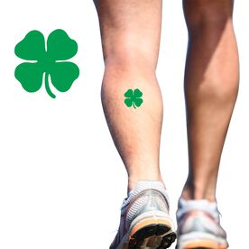 Good Luck Clover SportTATS Temporary Running Tattoo