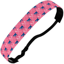 Girls Lacrosse Julibands No-Slip Headbands - Lula The Lax Dog