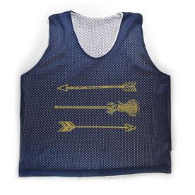 Girls Lacrosse Racerback Pinnie Lacrosse Arrows