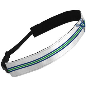 Julibands No-Slip Headbands Personalized Crossed Sticks and Number