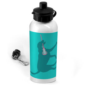 Lacrosse 20 oz. Stainless Steel Water Bottle Lacrosse Dog
