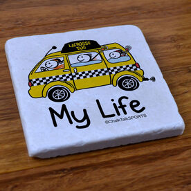 My Life Taxi - Natural Stone Coaster