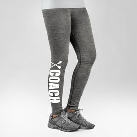 Lacrosse Performance Tights Coach