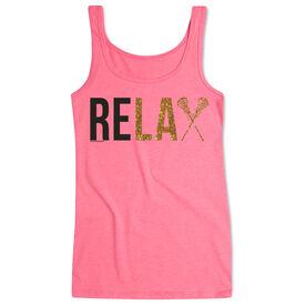 Girls Lacrosse Women's Athletic Tank Top Relax
