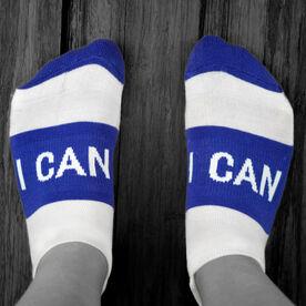 Socrates™ Woven Performance Socks I Can (Royal)