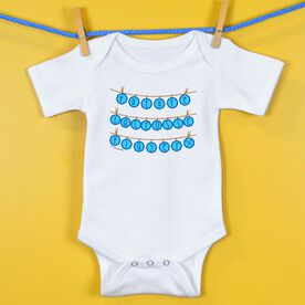 Baby One-Piece Future Lacrosse Player