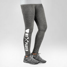 Lacrosse Performance Tights Heart My Lacrosse Player