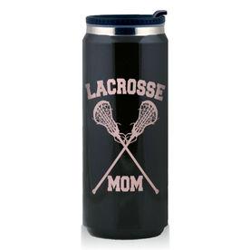 Stainless Steel Travel Mug Lacrosse Mom Girls Sticks