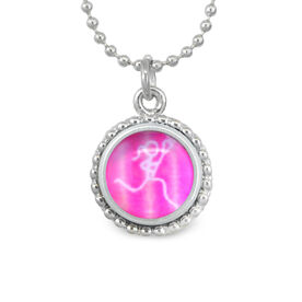 Lacrosse Stick Figure SportSNAPS Necklace