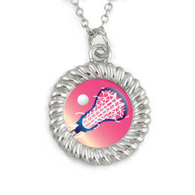 Lacrosse Braided Circle Necklace Sweet Pass