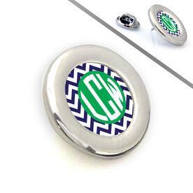 Sport Lapel Pin LV Chevron Monogram