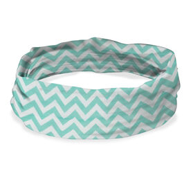 Original RokBAND Multi-Functional Headband (Chevron Teal)