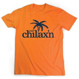 Lacrosse Short Sleeve T-Shirt - Just Chillax'n