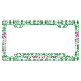 LACROSSE MOM License Plate Holder