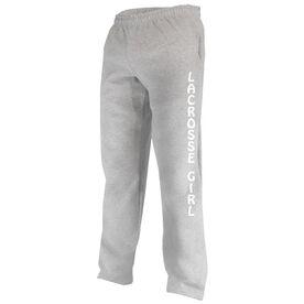 Girls Lacrosse Fleece Sweatpants - Girl