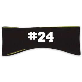 Reversible Performance Headband Custom Team Number
