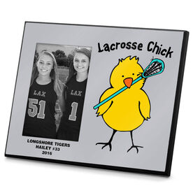 Lacrosse Personalized Photo Frame Lacrosse Chick