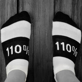 Socrates™ Woven Performance Socks 110% (Black)