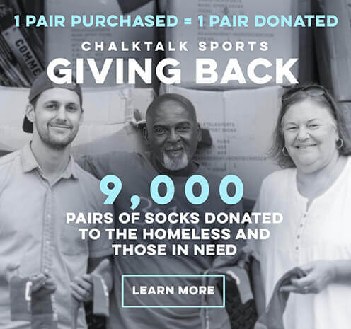 Giving Back 1 Pair of Socks for Every Pair Purchased