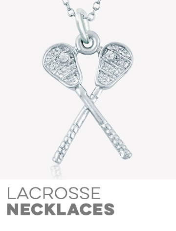 Girls Lacrosse Necklaces