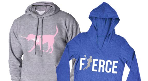 Girls Lacrosse Sweatshirts