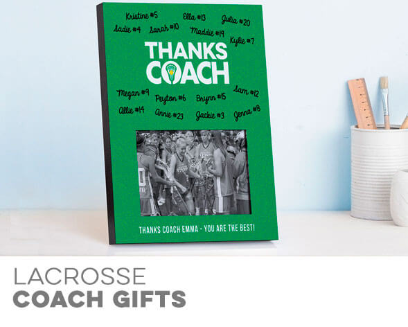 Girls Lacrosse Coach Gifts