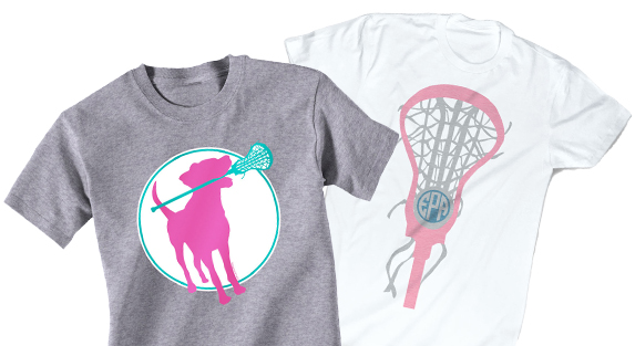 Girls Lacrosse Short Sleeve T-Shirts