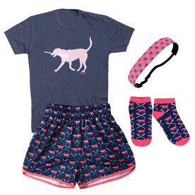 Lula The Lax Dog Girls Lacrosse Outfit