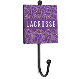 Girls Lacrosse Medal Hook - Lacrosse Pattern