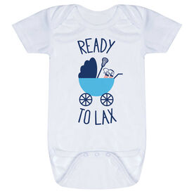Lacrosse Baby One-Piece - Ready To Lax