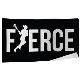 Lacrosse Beach Towel Fierce