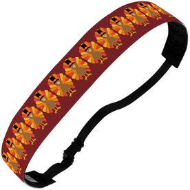Athletic Julibands No-Slip Headbands - Pilgrim Turkeys