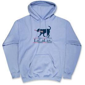 Girls Lacrosse Standard Sweatshirt LuLaLax Logo