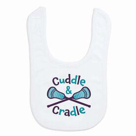Lacrosse Baby Bib - Cuddle & Cradle