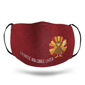Lacrosse Face Mask - Lacrosse Now Gobble Later