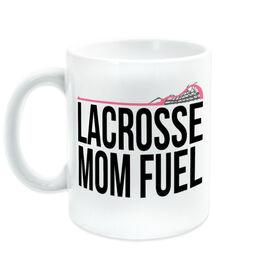Girls Lacrosse Coffee Mug - Lacrosse Mom Fuel