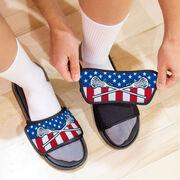 Girls Lacrosse Repwell® Slide Sandals - USA Lacrosse