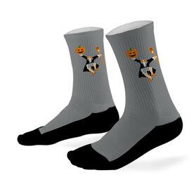 Lacrosse Printed Mid Calf Socks Headless Horseman