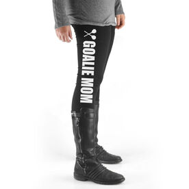 Lacrosse High Print Leggings Goalie Mom