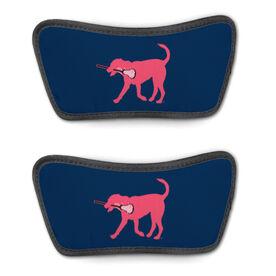Girls Lacrosse Repwell™ Sandal Straps - Lula the Lax Dog